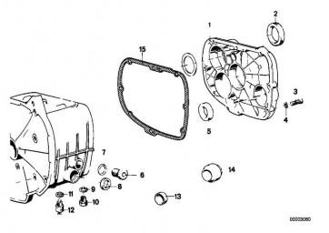 Getriebedeckel  R   (23111241831)