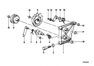 Schaltkurve 1/2/5 GANG      R R50/5-R90S   (23311231611)