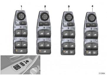 Schalter Fensterheber Fahrerseite  1er 3er 2er 4er X1  (61319362107)