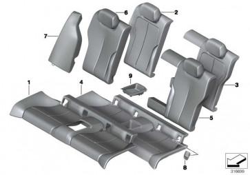 Schaumteil Sitz hinten  4er  (52207274549)