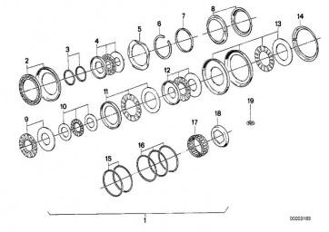 Rechteckring 22,7X25X2       (24211216345)