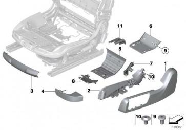 Torxschraube mit Bund M5X8,5 6er  (52107324637)