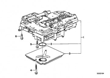 Zylinderschraube M6X65           7er 6er 5er 3er 8er  (24341215492)
