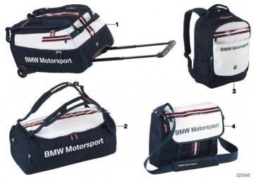 BMW Motorsport Reisetasche BLUE/WHITE       (80222318278)