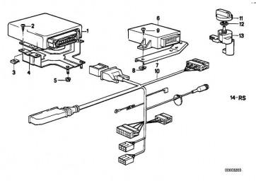 Sechskantmutter M5              1er  3er 5er 6er 7er 8er M1 X5 X6 Z3 Z4 Z8 MINI  (63259128043)