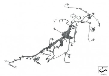 Hauptkabelbaum EU4 (61118350519)