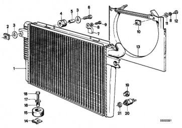 Ablassschraube Kühler M10             3er 5er 6er 7er 8er Z1 Z3  (17111719384)