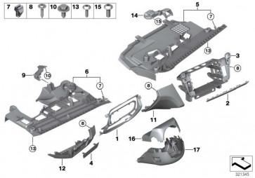 Funktionsträger Instrumententafel  6er  (51459197466)