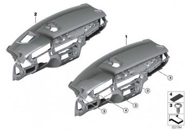 Instrumententafel Head-Up Display SCHWARZ/SCHWARZ X5  (51459298600)