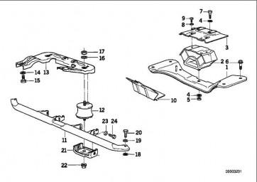 Zylinderschraube M10X20          3er 5er  (07119901039)
