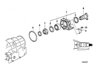 Ringmutter  7er 5er 3er Z4  (24201219142)
