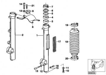 Zylinderschraube M12X35          R  (31422312033)