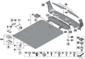 Gasdruckfeder SCHWARZ         5er  (51479168507)