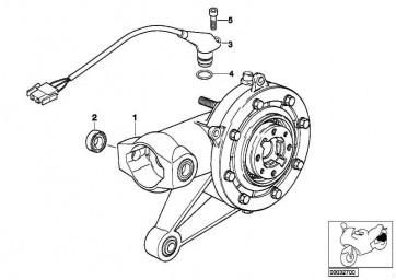 Hinterachsgetriebe Silber/Schwarz/ABS I =32:11=2,91   259 R22  (33112330401)