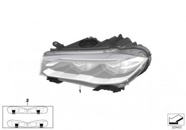 Scheinwerfer Bi-Xenonlicht links  X5  (63117317101)