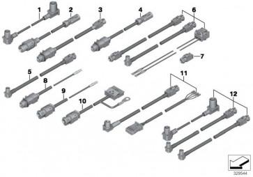 HSD - Leitung L= 7840MM 7er 5er X3 6er 3er 4er  (61119326455)