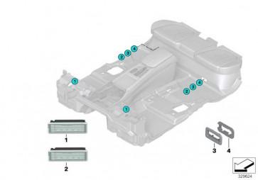 Innenleuchte LED  X5 X6 7er 5er  (63316820668)