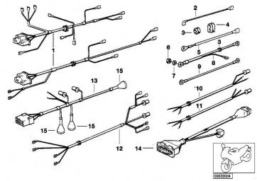 Kabelsatz Voltmeter  R R50/5-R90S  (61121357703)