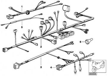 Kabelbaum Verkleidung  R  (61121244414)