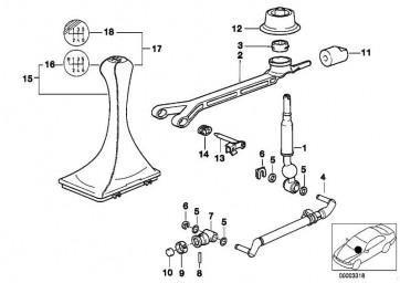 Lagerbuchse oval L=26MM/SCHWARZ  1er 3er 5er 6er 7er 8er X1 X3 Z3 Z4 Z8  (25117507695)