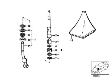 Kugelschale oben   3er 5er 6er 7er M1  (23411466110)