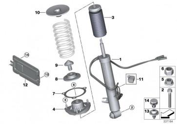 Zusatzdämpfer mit Schutzrohr hinten (33536851873)