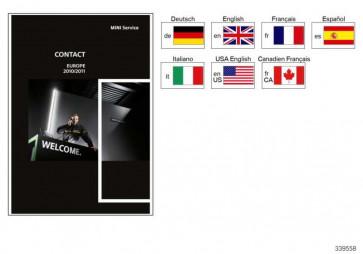 Service-Kontakt-Broschüre Übersee 03/2010         MINI  (01990156649)