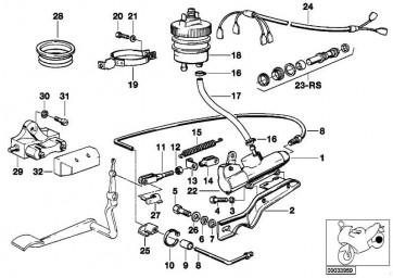 Reparatursatz Hauptbremszylinder 15,87           R  (34311237233)