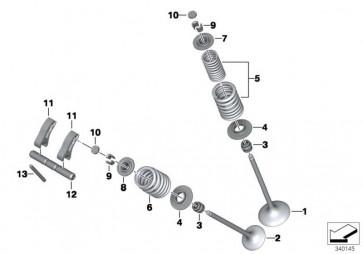 Einstellplättchen 2,28 MM         K46 K42 K50 K47 K51 K52 K53 K54 K49 K03  (11347718099)