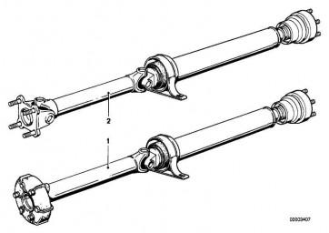 Gelenkwelle Automatikgetriebe L=1290MM        8er  (26111226680)