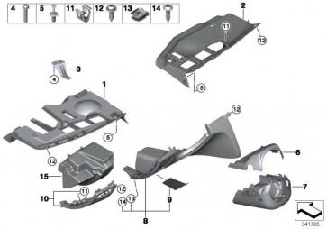 Ablagefach Instrumententafel Fahrerseite BEIGE           1er  (51459120628)