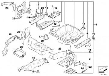 Verstärkung Gepäckraumboden vorne (51717894229)