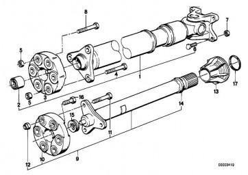 Sechskantschraube M10X32          3er BMW  (26201226104)