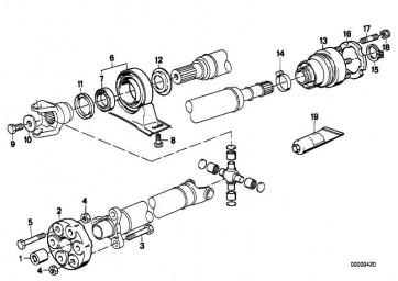 Spannschelle D=34MM          1er 3er 5er 6er 7er 8er X3 X5 Z4 Z8  (26117542264)