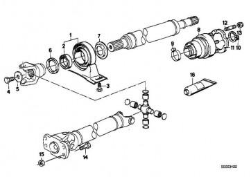 Unterlegscheibe D=40MM/ZNS3     1er 3er 5er 6er 7er 8er Z8  (26111226237)