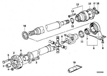 Sechskantschraube M14X1,5X73      3er 5er 7er 8er Z8  (26111227829)
