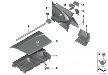 Rohr Ladegutsicherung GP2             MINI  (51717333696)