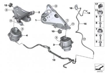 Motortragbock links (22116882029)