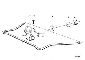 Stabilisator vorn D=22MM (31351121540)