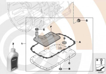 Automatik-Getriebeöl Dexron VI 5L  (83222167720)