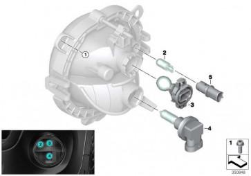 ISA-Schraube mit Scheibe M5X12 MINI K46  (07129905835)