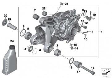 Winkelgetriebe mit Entlüftung silber I=31:11=2,82     (33118521838)
