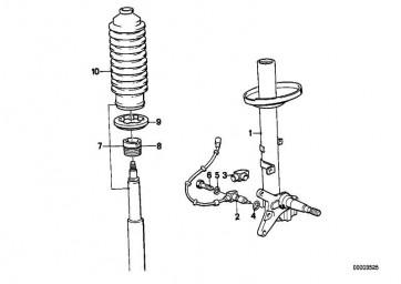 Stossdämpfer-Einsatz BILSTEIN        6er 5er  (31322225016)