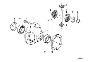 Sperrzahnschraube M10X19           3er Z3  (33131212693)