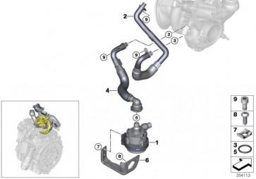Zusatzkühlmittelpumpe  X3  (11517643949)