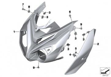Scheinwerferverkleidung links ROHTEIL / BLANK (46638534529)