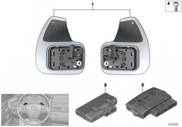 Steuergerät Lenkradelektronik  X5 X6  (61317849446)