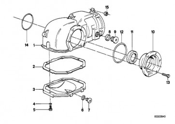 Verschlussschraube M14X1,5-ZN/PBX  3er  (31511211119)