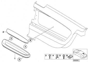 Armstütze Oberteil hinten links IMOLAROT        (51437890795)