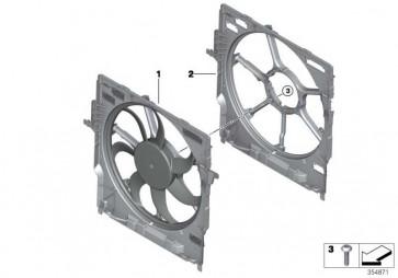 Lüfterzarge mit Lüfter 600W            X5 X6  (17427634467)